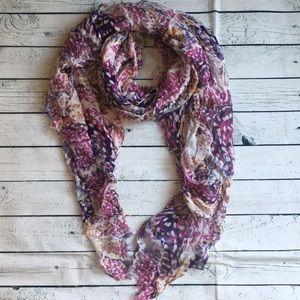 Icing light scarf